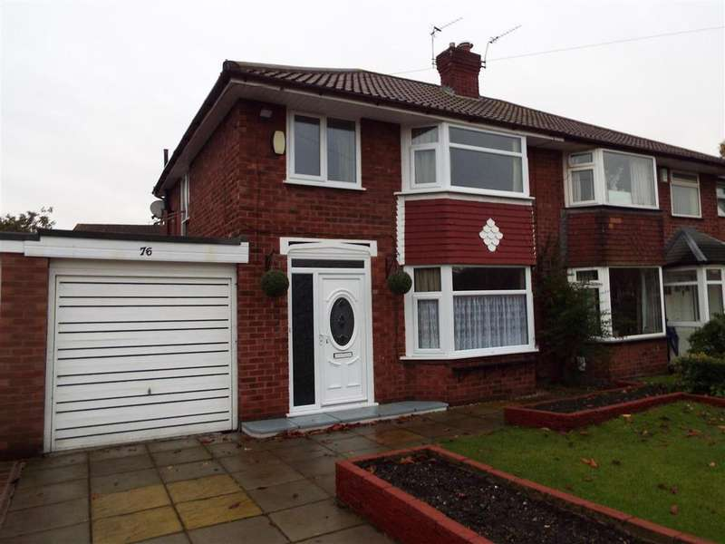3 Bedrooms Semi Detached House for sale in Queensway, Heald Green