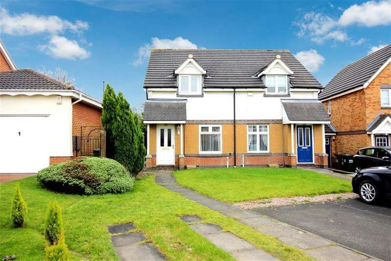 2 Bedrooms Semi Detached House for sale in Greenhills, Newcastle Upon Tyne
