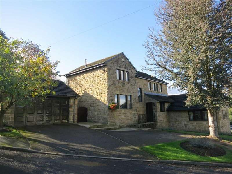 4 Bedrooms Detached House for sale in Hall Ing Lane, Honley, Holmfirth, HD9