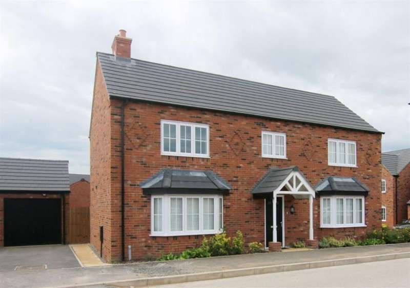 4 Bedrooms Detached House for sale in Green Howards Road, Saighton