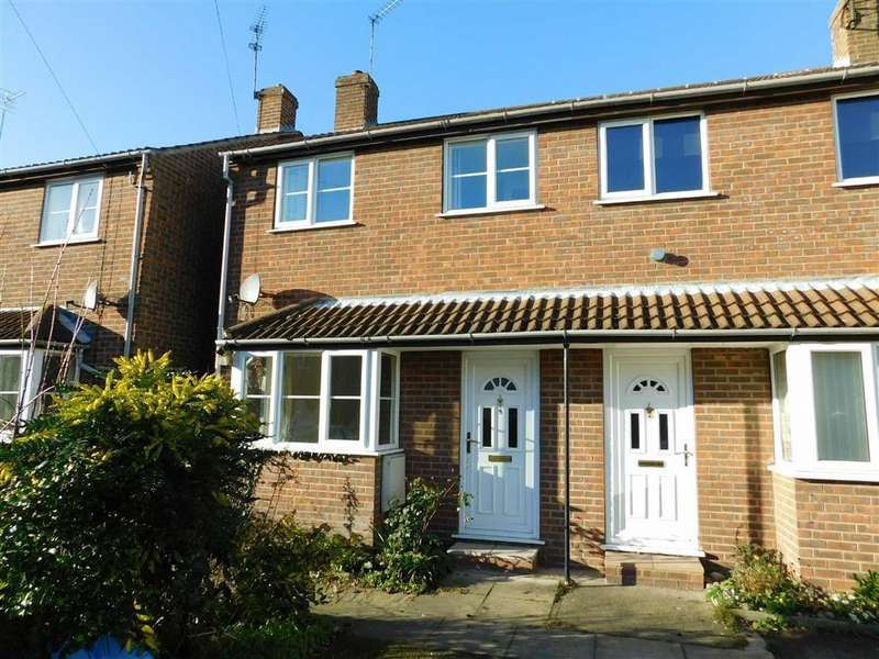 2 Bedrooms Semi Detached House for sale in Wellington Mews, Ripon