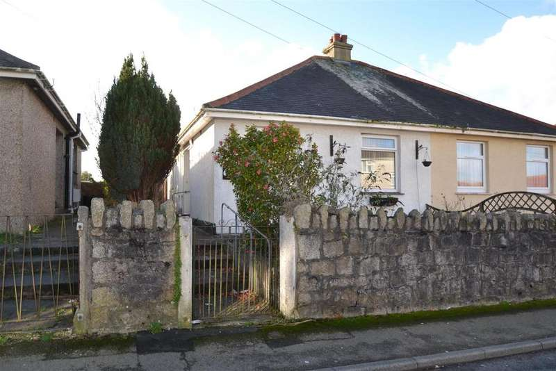 2 Bedrooms Semi Detached Bungalow for sale in Glasney Road, Falmouth