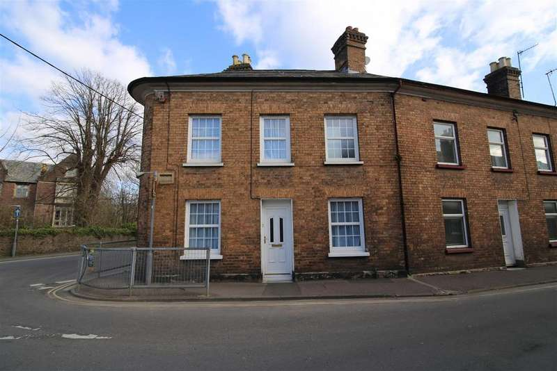 3 Bedrooms End Of Terrace House for sale in Church Street, Tiverton