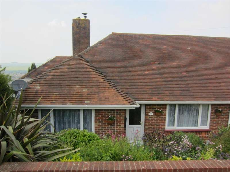 2 Bedrooms Semi Detached Bungalow for sale in Cuckmere Way