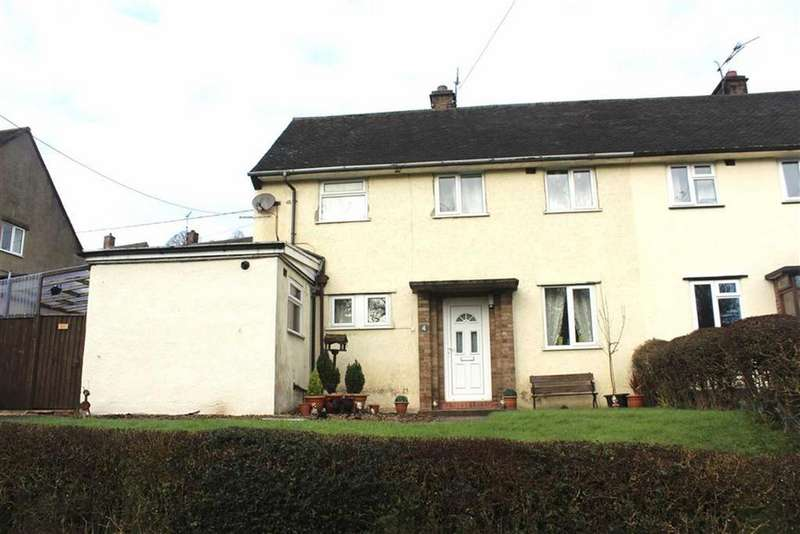 3 Bedrooms Semi Detached House for sale in Bron Y Gaer, Llanfyllin