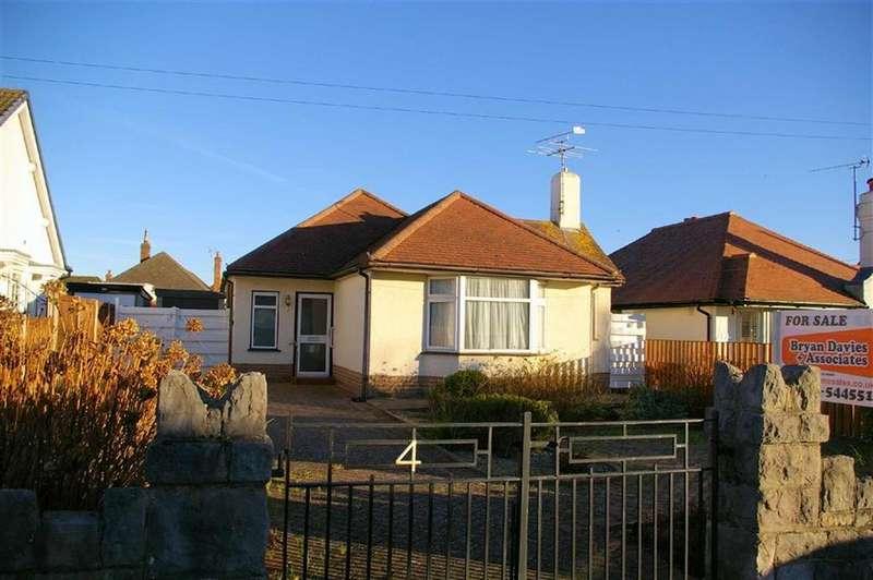 2 Bedrooms Detached Bungalow for sale in St Davids Road, Penrhyn Bay, Llandudno