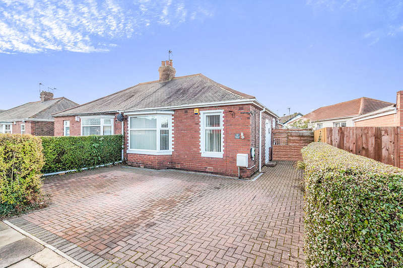 2 Bedrooms Semi Detached Bungalow for sale in Ashwood Crescent, Newcastle Upon Tyne, NE6