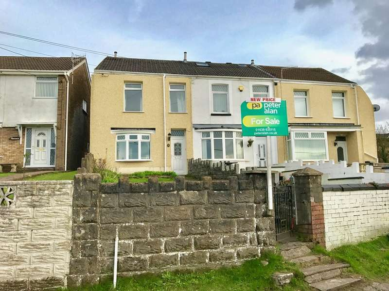 3 Bedrooms End Of Terrace House for sale in Danygraig Road, Neath