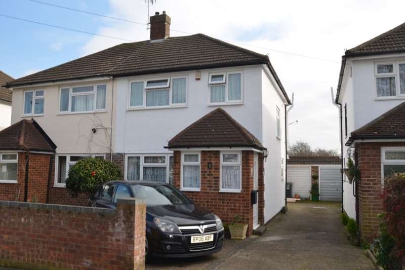 3 Bedrooms Semi Detached House for sale in Armstrong Road, Feltham, TW13