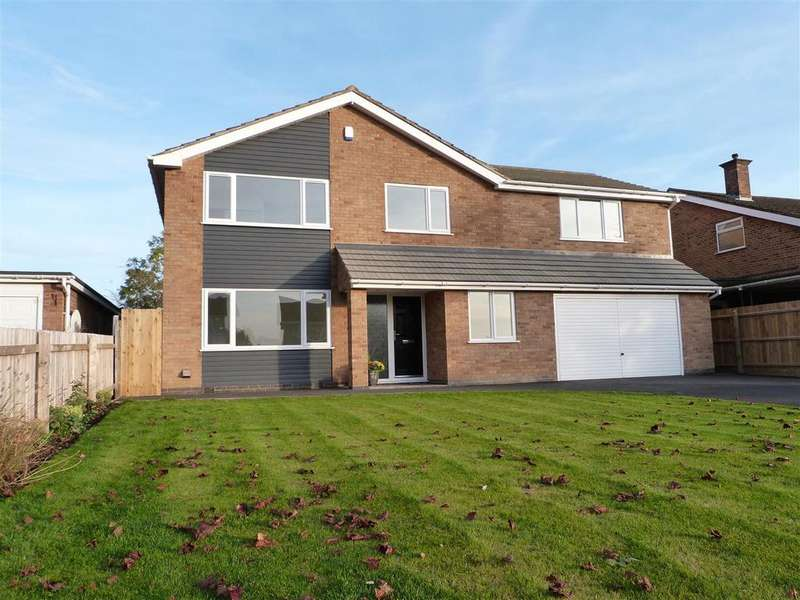 5 Bedrooms Detached House for sale in Coverside Road, Great Glen
