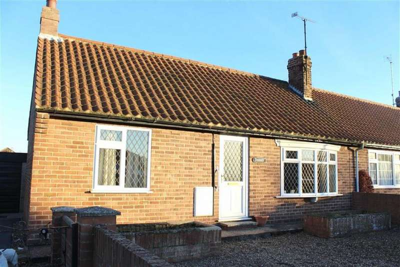 2 Bedrooms Semi Detached Bungalow for sale in Driffield Road, Kilham, East Yorkshire