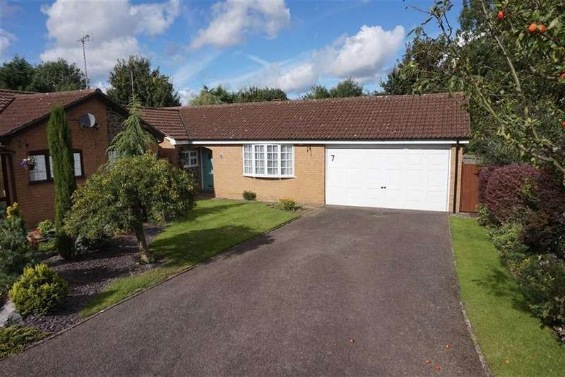 2 Bedrooms Detached Bungalow for sale in Oadby