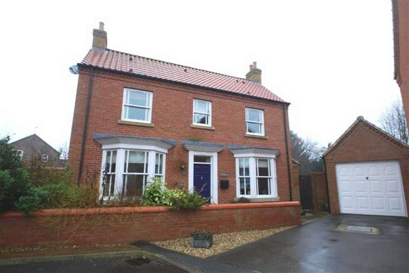 4 Bedrooms Detached House for sale in Tiggers Orchard, Wragby