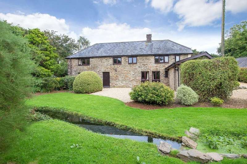 4 Bedrooms Barn Conversion Character Property for sale in The Village, North Huish, South Brent, Devon, TQ10