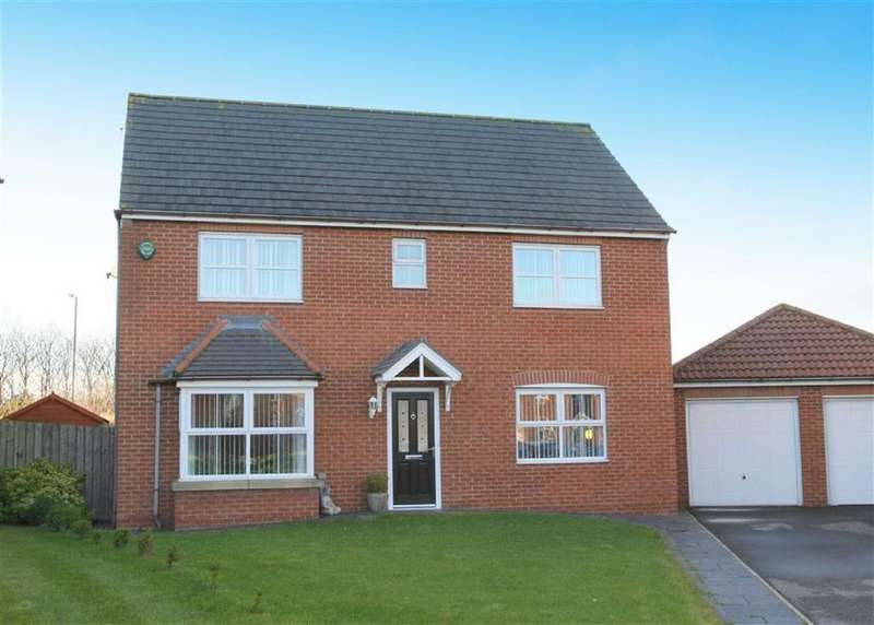 3 Bedrooms Detached House for sale in Cloverfield, West Allotment, Tyne Wear, NE27