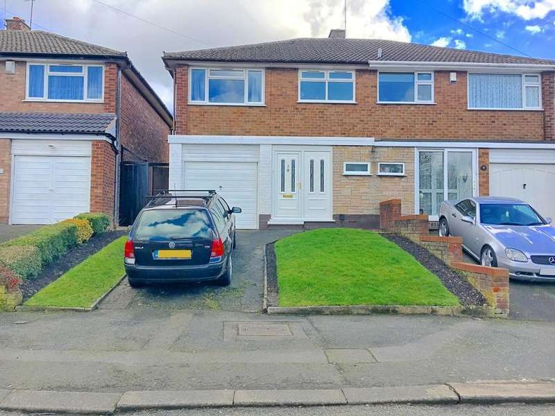 3 Bedrooms Semi Detached House for sale in NORFOLK AVENUE, WEST BROMWICH, WEST MIDLANDS, B71 1HX