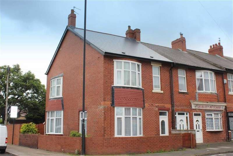 3 Bedrooms End Of Terrace House for sale in Trevor Terrace, North Shields, Tyne Wear, NE30