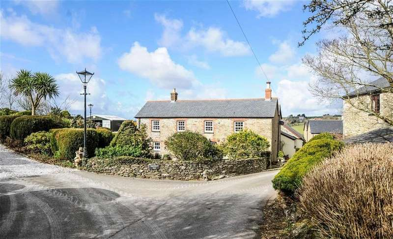 4 Bedrooms Detached House for sale in St Newlyn East, Newquay, Cornwall, TR8