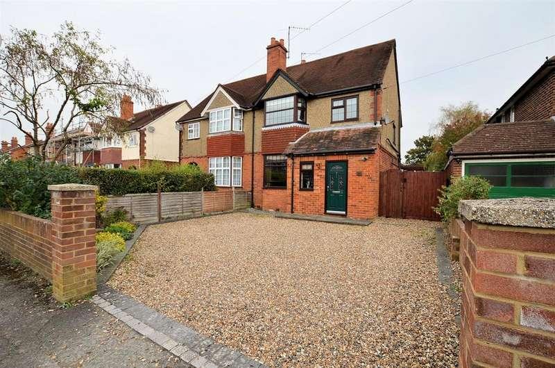 4 Bedrooms Semi Detached House for sale in Crescent Road, Tilehurst, Reading