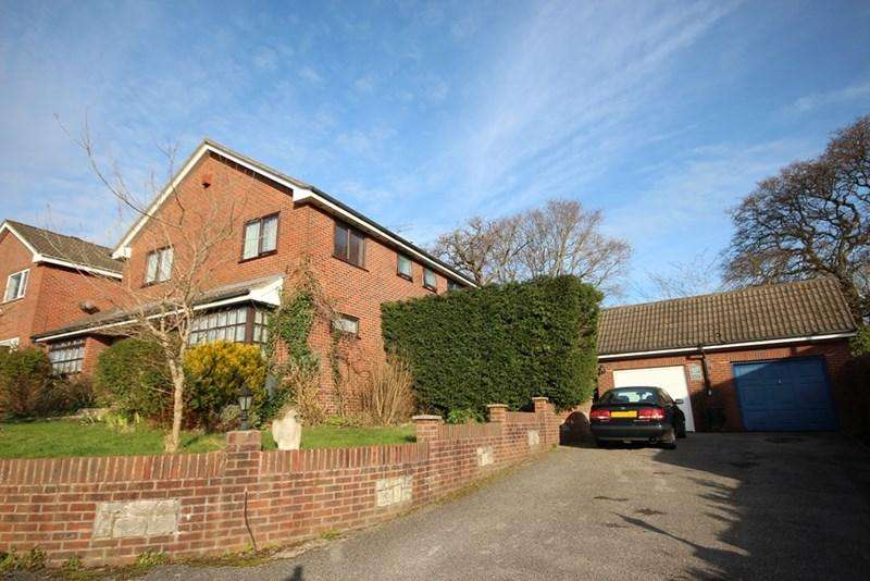 4 Bedrooms Detached House for sale in Hawthorn Drive, Creekmoor, Poole