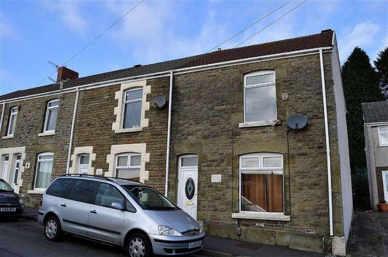 3 Bedrooms End Of Terrace House for sale in Hopkin Street, Swansea, SA5
