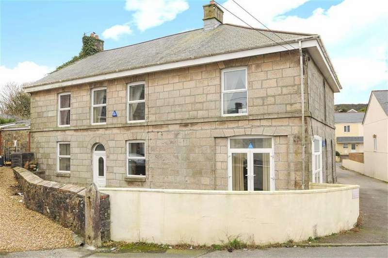 4 Bedrooms Semi Detached House for sale in Fore Street, St Dennis, St Austell, Cornwall, PL26