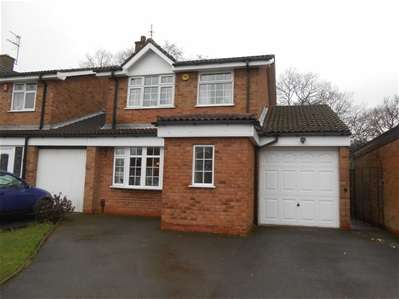 3 Bedrooms Link Detached House for sale in Highgrove Close, New Invention, Willenhall