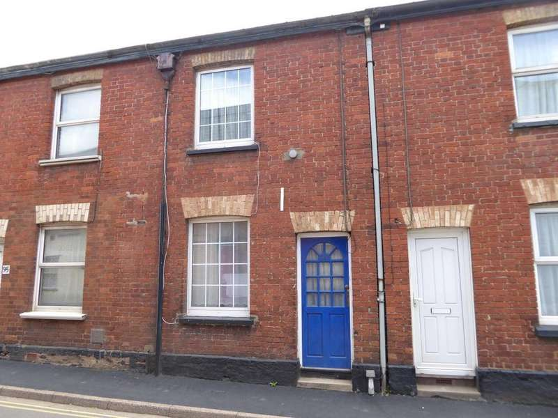 2 Bedrooms Terraced House for sale in Bampton Street, Tiverton