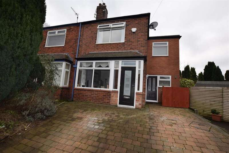 3 Bedrooms Semi Detached House for sale in Highfield Drive, Alkrington, Middleton