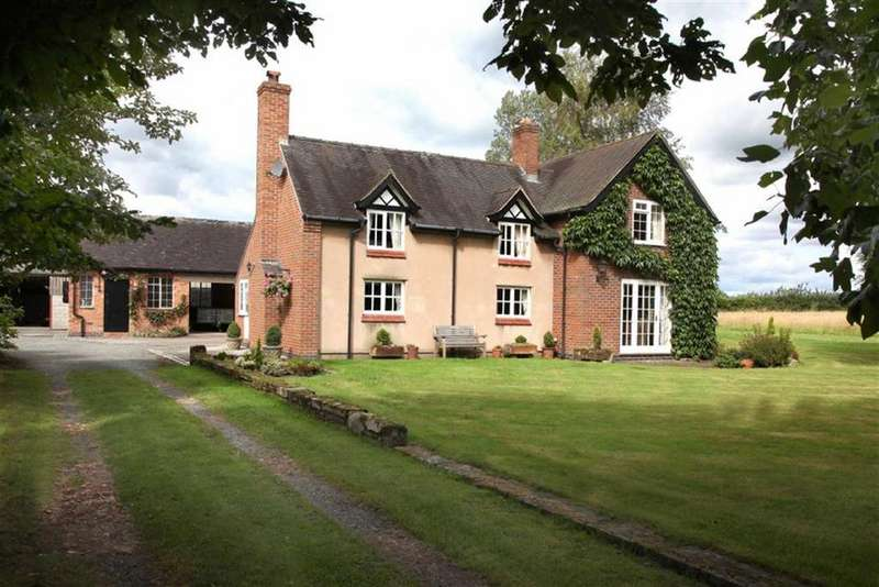3 Bedrooms Detached House for sale in Woodhey Lane, Faddiley Nantwich, Cheshire