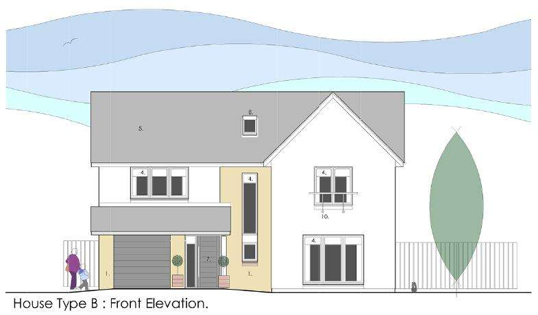 4 Bedrooms Detached House for sale in Muirhall Place, Irvine, North Ayrshire, KA11 4DQ