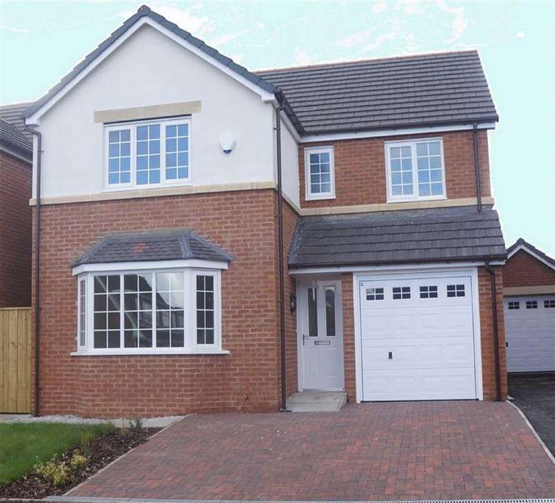 4 Bedrooms Detached House for sale in Richmond, Summerhill, Wrexham