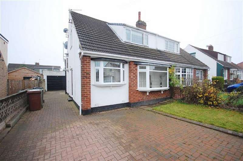 2 Bedrooms Semi Detached House for sale in Whitecliffe Crescent, Swillington, Leeds, LS26