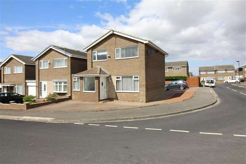3 Bedrooms Link Detached House for sale in Falkirk, Newcastle Upon Tyne