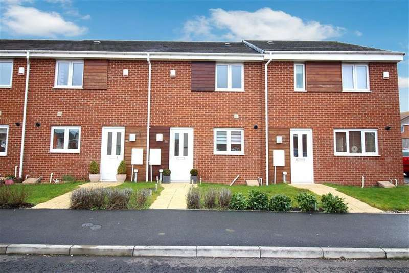 2 Bedrooms Terraced House for sale in White Swan Close, Killingworth