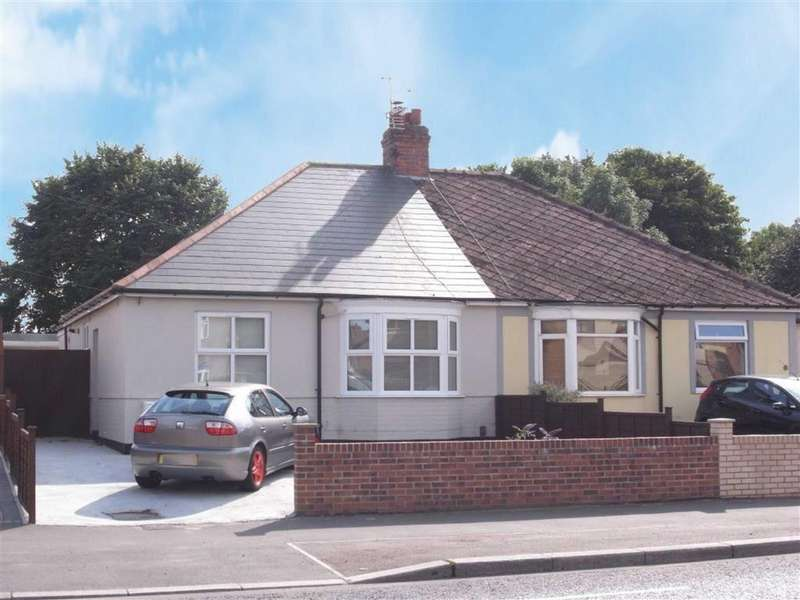 2 Bedrooms Semi Detached Bungalow for sale in Whinfield Road, Darlington