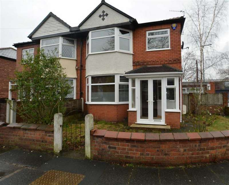 3 Bedrooms Semi Detached House for sale in Great Stone Road, STRETFORD