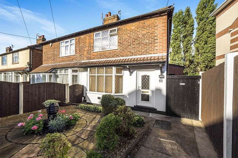 2 Bedrooms Semi Detached House for sale in Austin Street, Nottingham, NG6