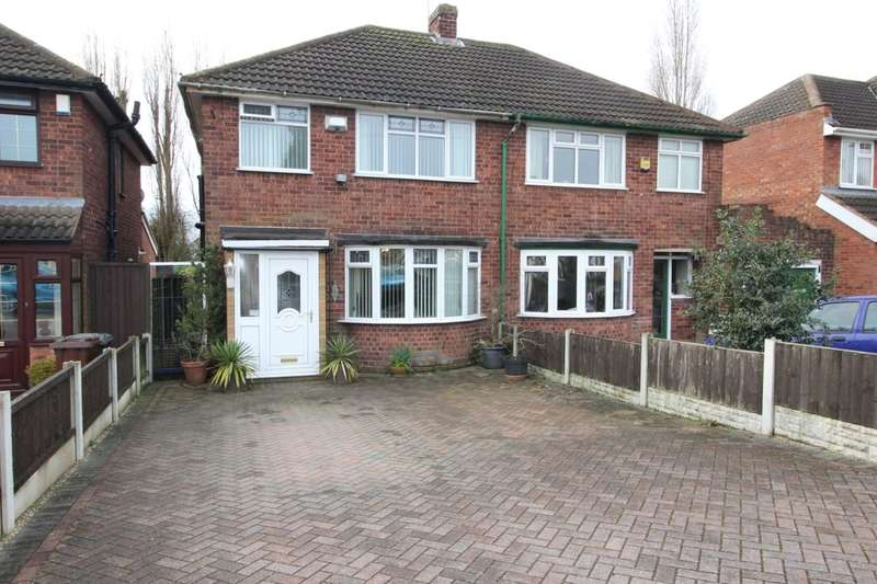 3 Bedrooms Semi Detached House for sale in March End Road, Wolverhampton, WV11