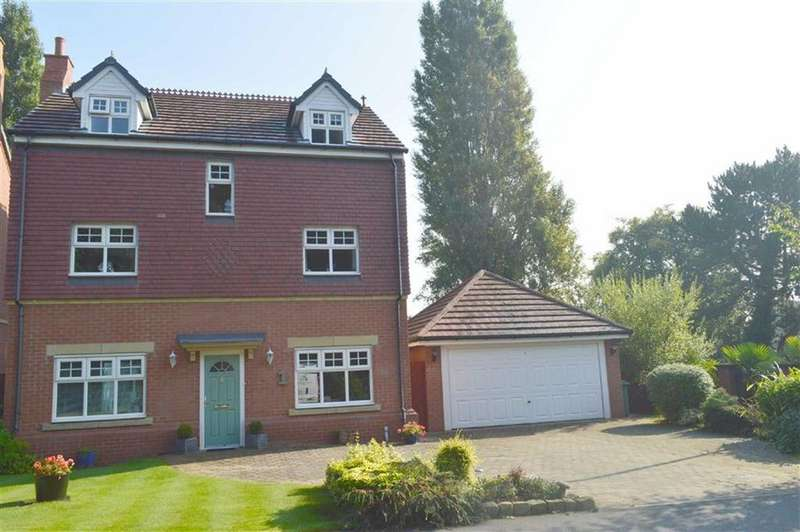 5 Bedrooms Detached House for sale in The Rocklands, Upton Road, Prenton, CH43