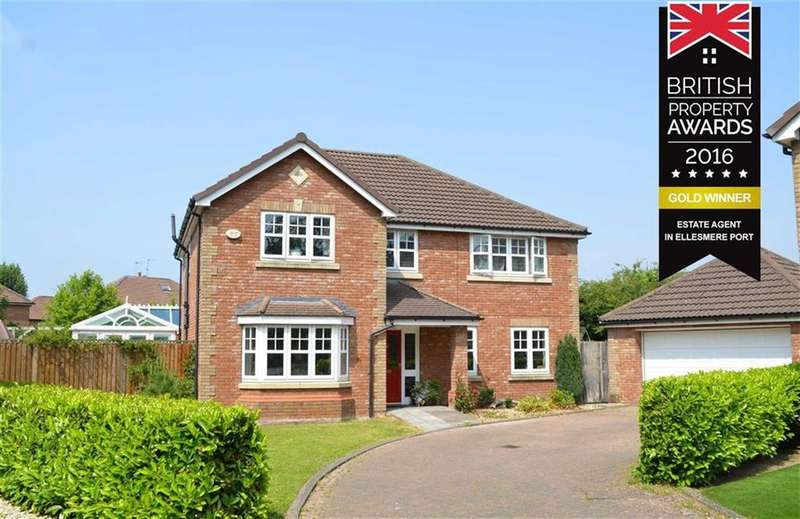 4 Bedrooms Detached House for sale in Hooton Hey, Great Sutton, CH66
