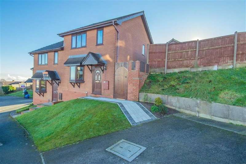 3 Bedrooms Semi Detached House for sale in Uwch Y Mor, Pentre Halkyn, Holywell