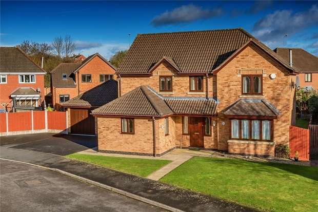 4 Bedrooms Detached House for sale in 14 Camellia Drive, Priorslee, Telford, Shropshire