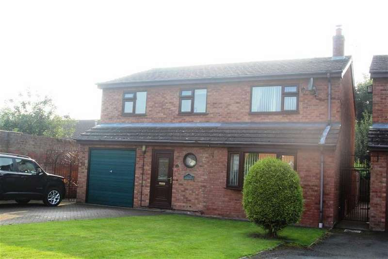 4 Bedrooms Detached House for sale in Brookside Gardens, Yockleton, Shrewsbury