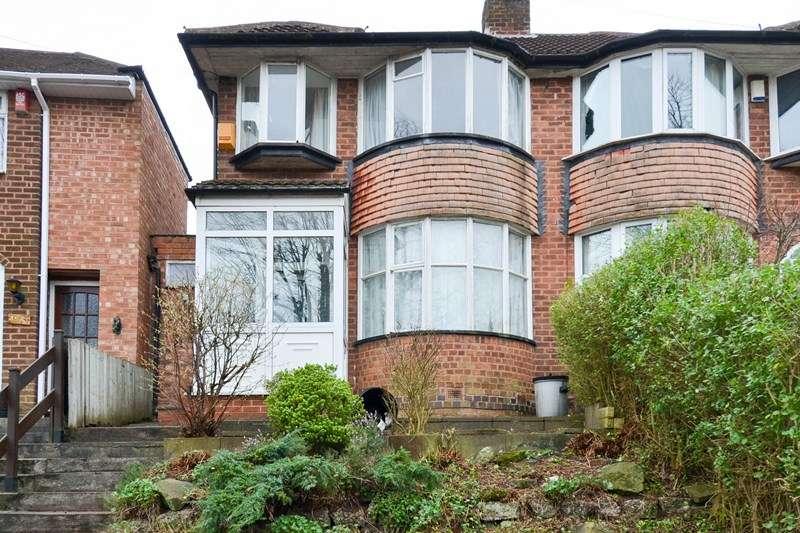 3 Bedrooms Semi Detached House for sale in Falconhurst Road, Selly Oak, Birmingham