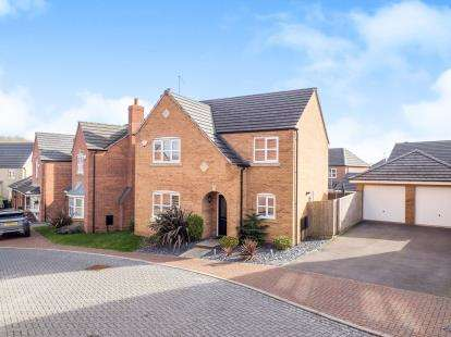 4 Bedrooms Detached House for sale in Dane Grove, Annesley, Nottingham, Nottinghamshire