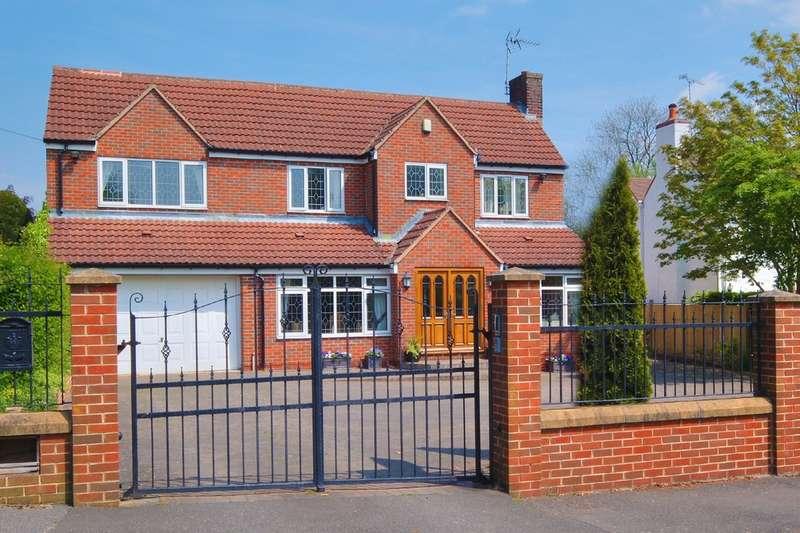 5 Bedrooms Detached House for sale in 6 Blacka Moor Road, Dore, S17 3GH