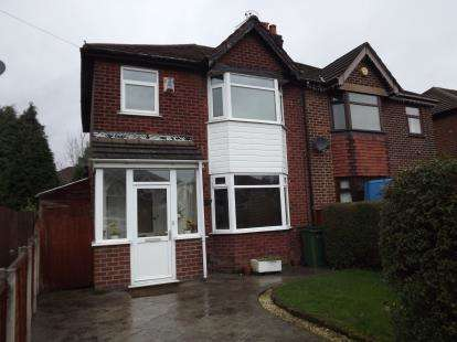 3 Bedrooms Semi Detached House for sale in Sandringham Road, Bredbury, Stockport, Greater Manchester