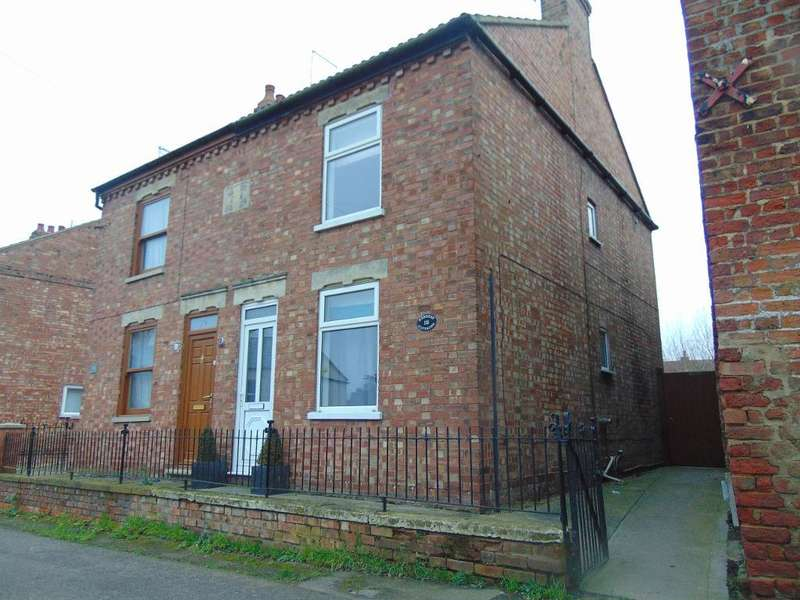 2 Bedrooms Semi Detached House for sale in Station Road, Tydd Gote, Wisbech, Cambridgeshire, PE13 5QA