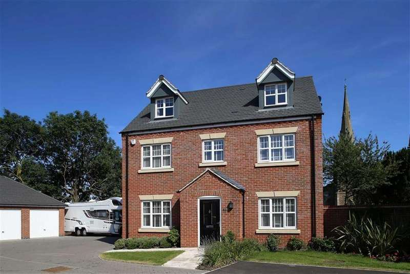 5 Bedrooms Detached House for sale in Church Farm Close, Cosby, Leicestershire